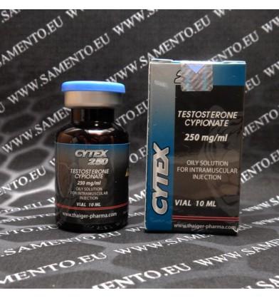 Testosterone Cypionate, Cytex 250, Thaiger Pharma