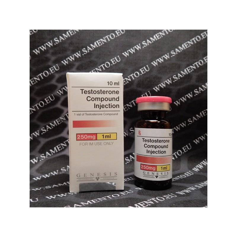 La testosterona inyectable compuesto (Sustanon 250), 250
